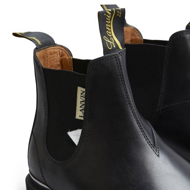 Lanvin boots i skinn, herr
