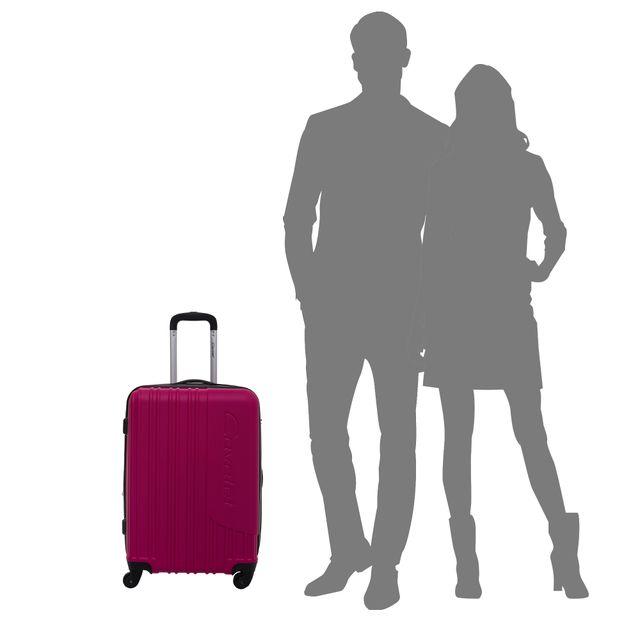Cavalet Malibu hård resväska, 4 hjul, 54/64/73 cm