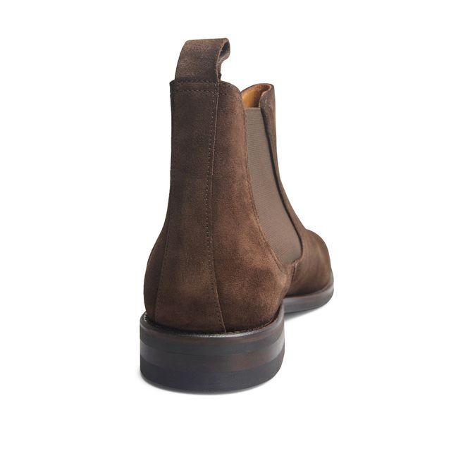 Rizzo Abaco chelsea boots i mocka, herr