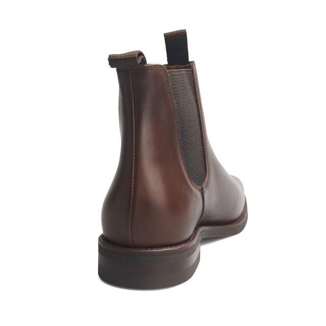 Rizzo Adelchi chelsea boots i skinn, herr