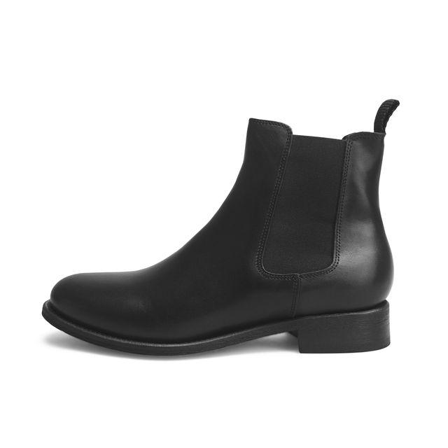 Rizzo Arabella chelsea boots i skinn, dam