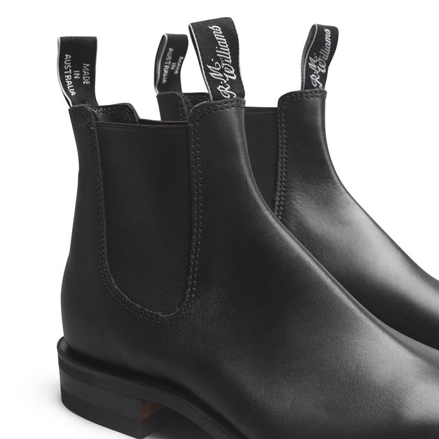 R.M Williams Macquarie Yearling chelsea boots i skinn, dam