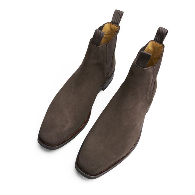 Rizzo Adelchi chelsea boots i mocka, herr