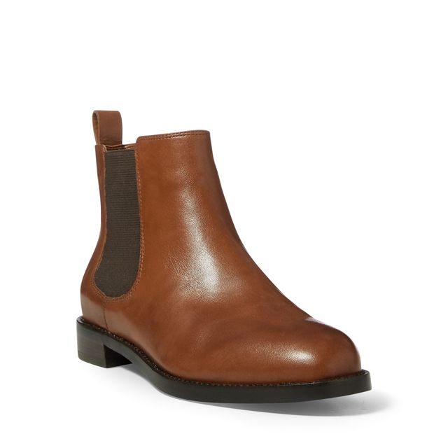 Lauren Ralph Lauren Haana boots i skinn, dam