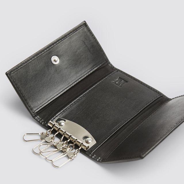 Rizzo Aristeo 2 nyckelhållare i skinn