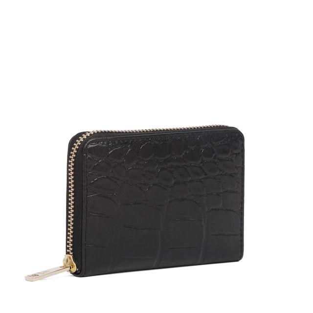 Adax Cornelia plånbok i krokopräglat skinn