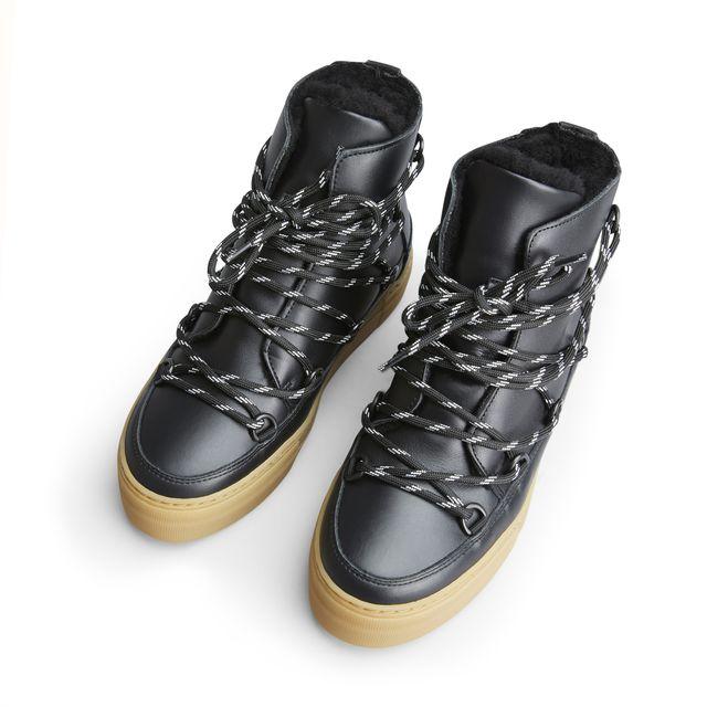 Rizzo Nella fodrade boots i skinn, dam