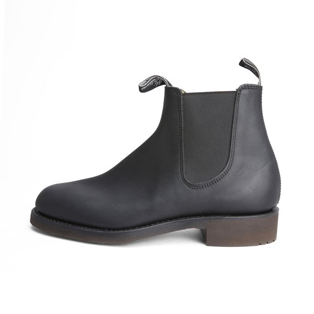R.M.Williams Gardener Greasy Kip chelsea boots, herr