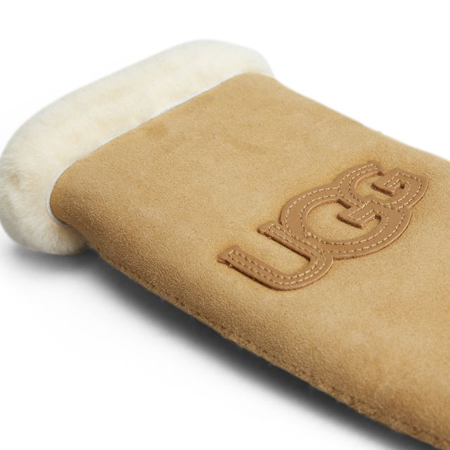 UGG Logo tumvantar i fårskinn, dam