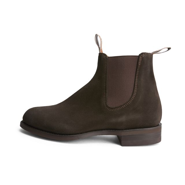 R.M. Williams Wentworth Suede chelsea boots i mocka, herr