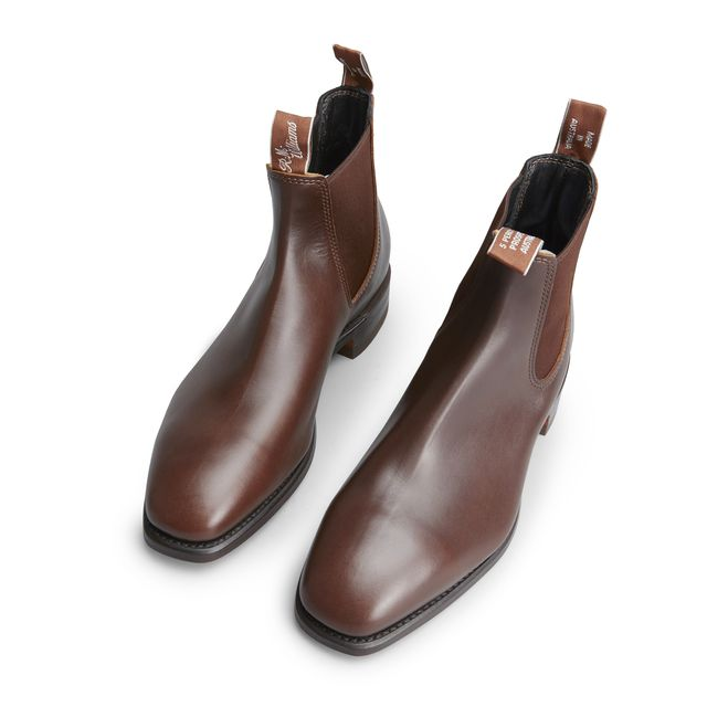 R.M. Williams Craftsman Yearling chelsea boots i skinn, herr
