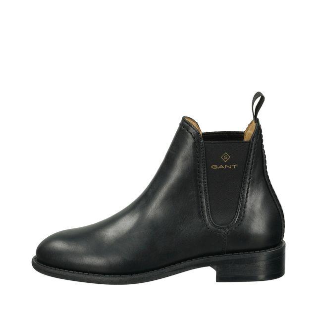 Gant Ainsley Chelsea boots i skinn, dam