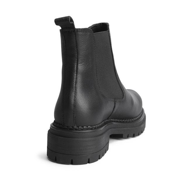 Rizzo Astrid Chunky Chelsea boots i skinn, dam
