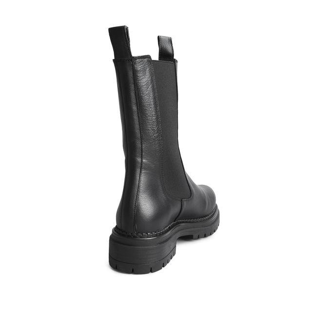Rizzo Ami Chunky boots i skinn, dam