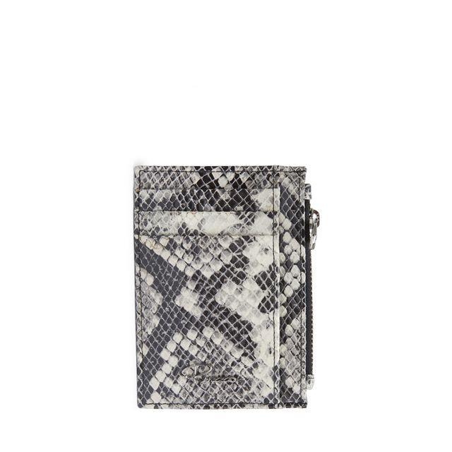 Rizzo Joy korthållare med zip i skinn