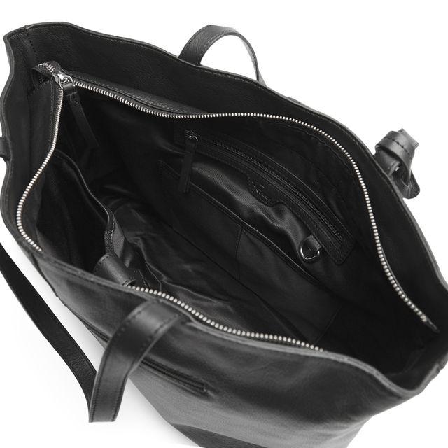 Rizzo Stella handväska med datorfack i skinn