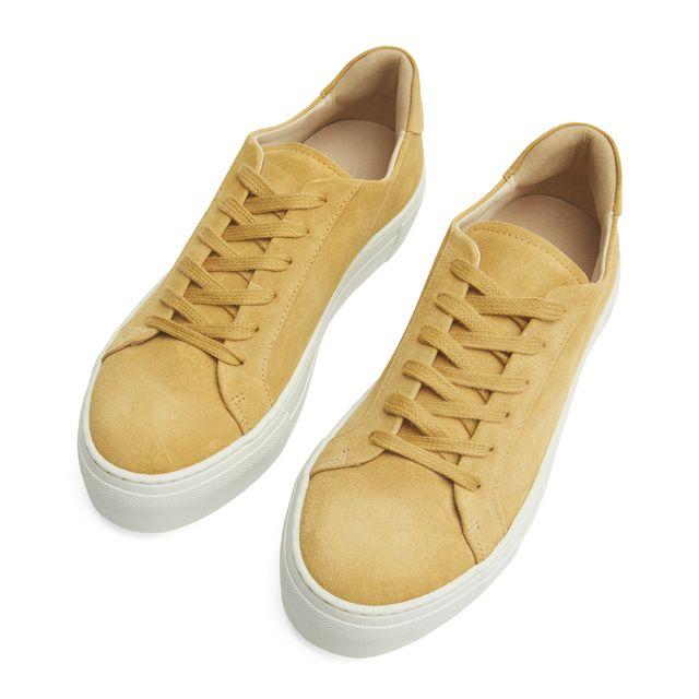 Rizzo Nadia sneakers i mocka, dam