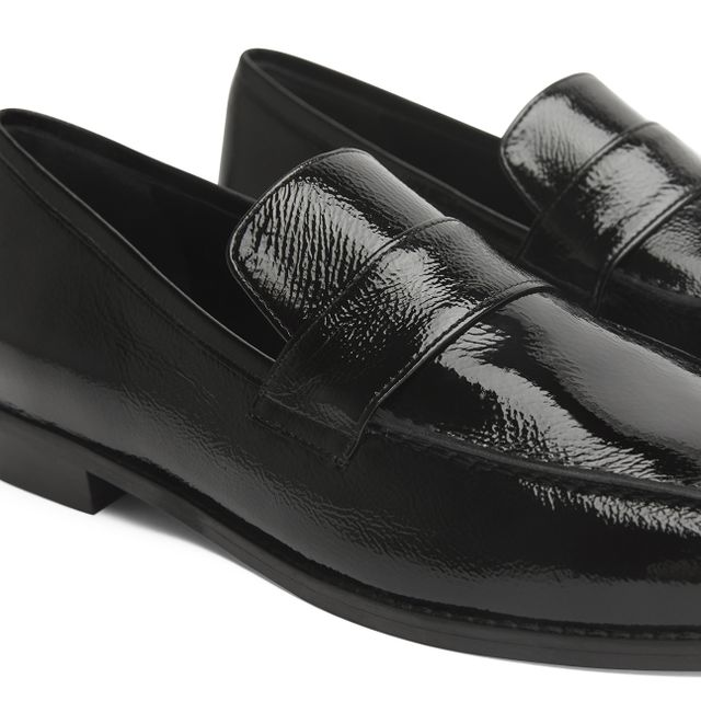 Rizzo Alba loafers i lackat skinn, dam