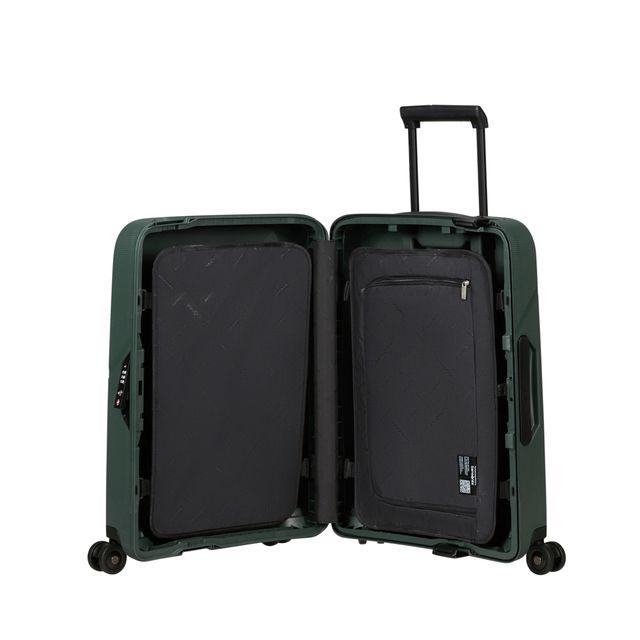 Samsonite Magnum Eco hård kabinväska, 55 cm, 4 hjul