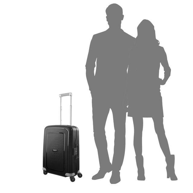 Samsonite S'Cure hård resväska, 4 hjul, 55 cm