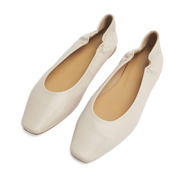 Rizzo Valeria ballerinaskor i skinn, dam