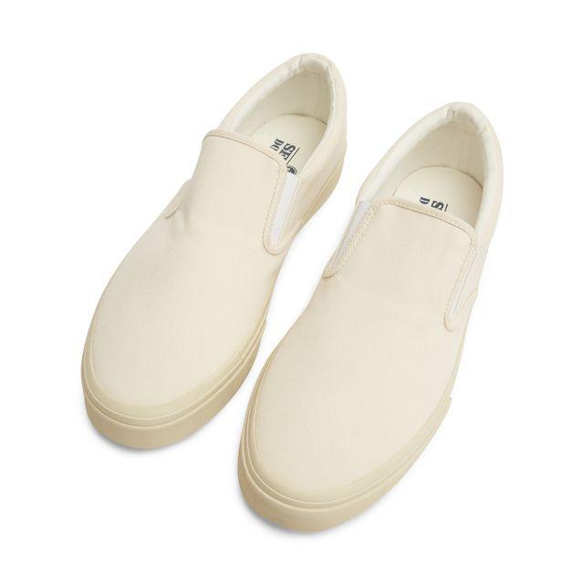 Sebago Jack slip-on sneakers i canvas, herr