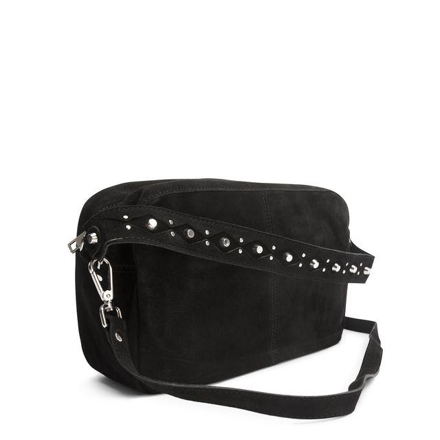 Adax Schanna handväska i mocka