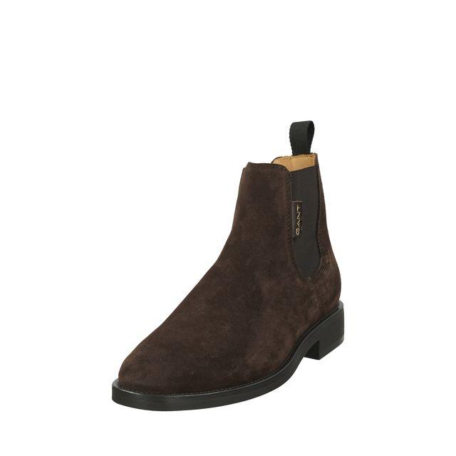 Gant Brockwill Chelsea boots i mocka, herr