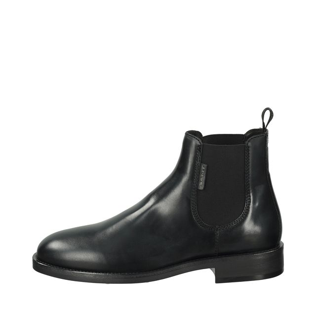 Gant Brockwill Chelsea boots i skinn, herr