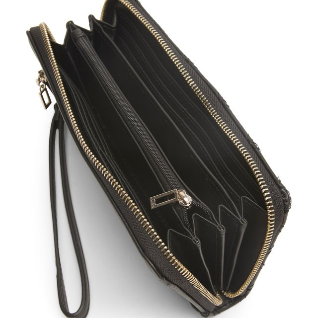 Guess Cessily Large Zip Around plånbok