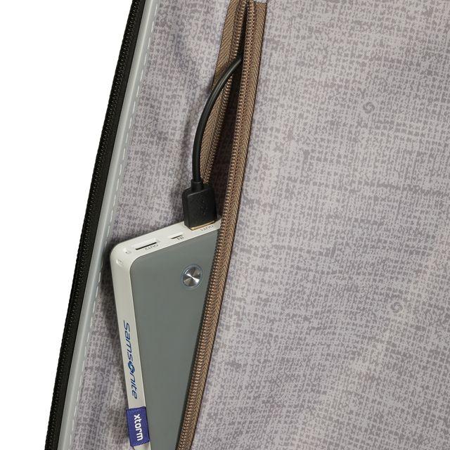 Samsonite C-Lite hård kabinväska, expanderbar, 4 hjul, 55 cm