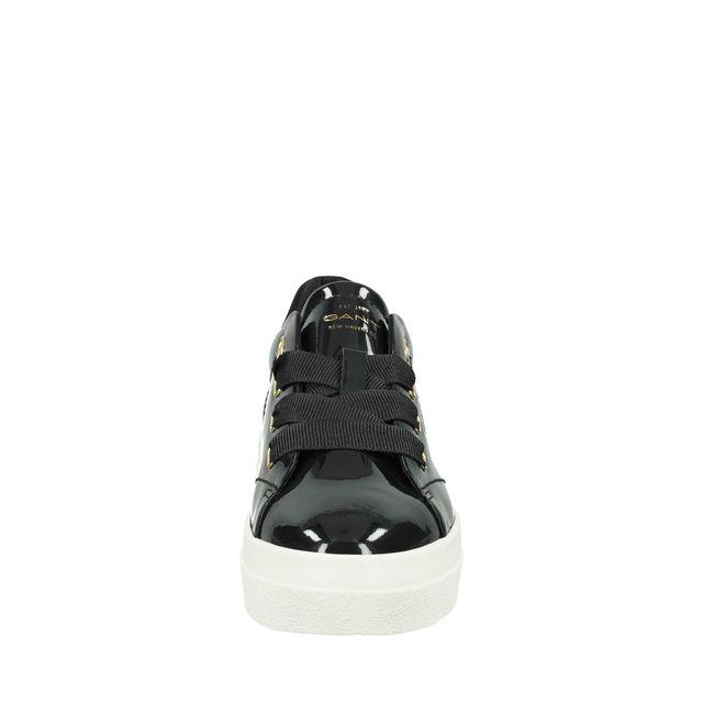Gant Avona sneakers i lackat skinn, dam
