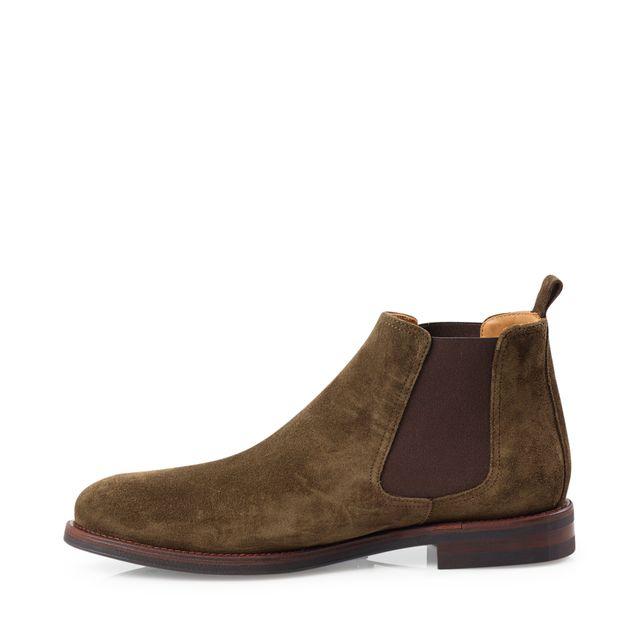 Rizzo Abaco chelsea boots i mocka