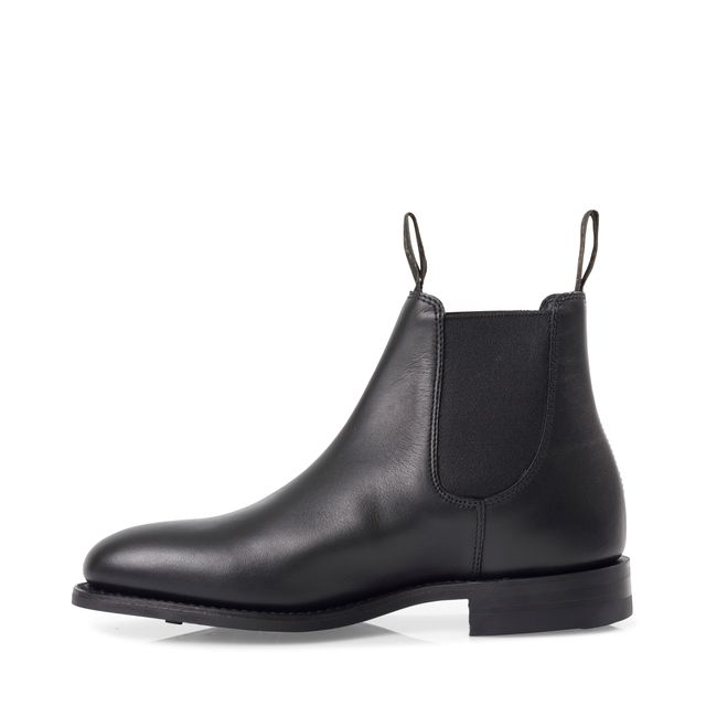 Loake Chatterley chelsea boots i skinn