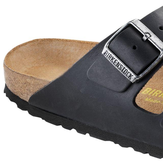 Birkenstock Arizona Classic Footbed tofflor i skinn, herr