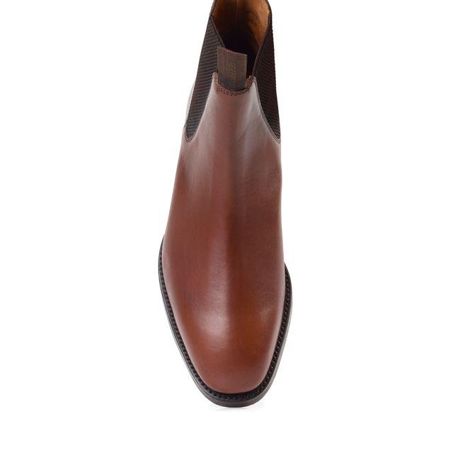 Loake Chatsworth chelsea boots i skinn, herr