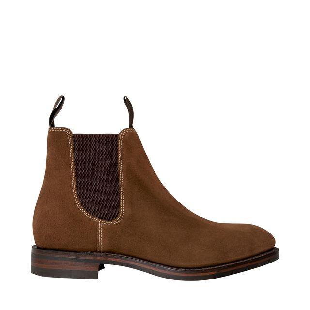 Loake Chatsworth chelsea boots i mocka