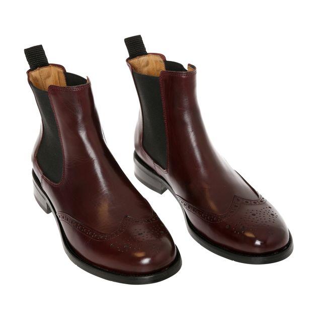 Rizzo Arianna chelsea boots i skinn