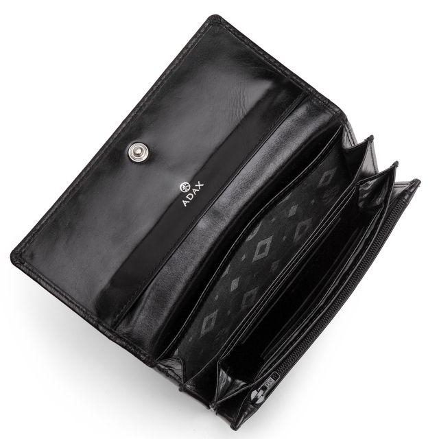 Adax Nete plånbok i skinn