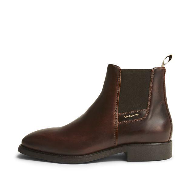 Gant James chelsea boots i skinn