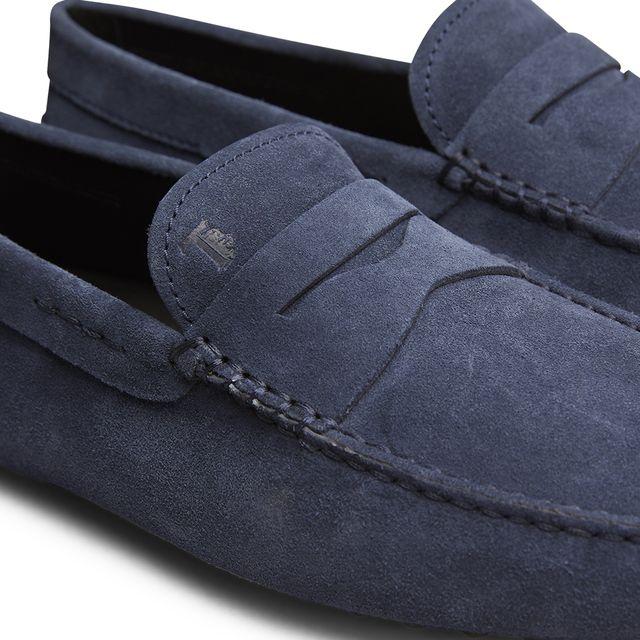 Tod's Gommini loafers i mocka, herr