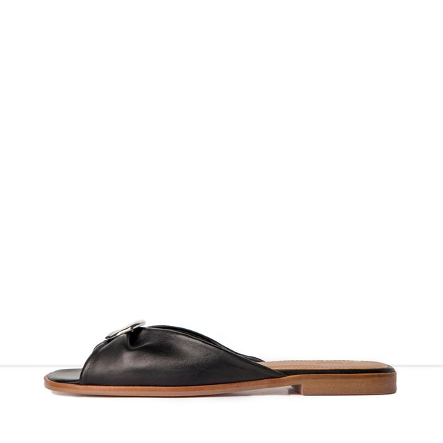 Flattered Michaela slip in-sandaler i skinn