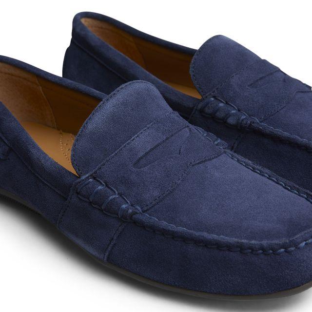 Lauren Ralph Lauren Reynold loafers i mocka, herr