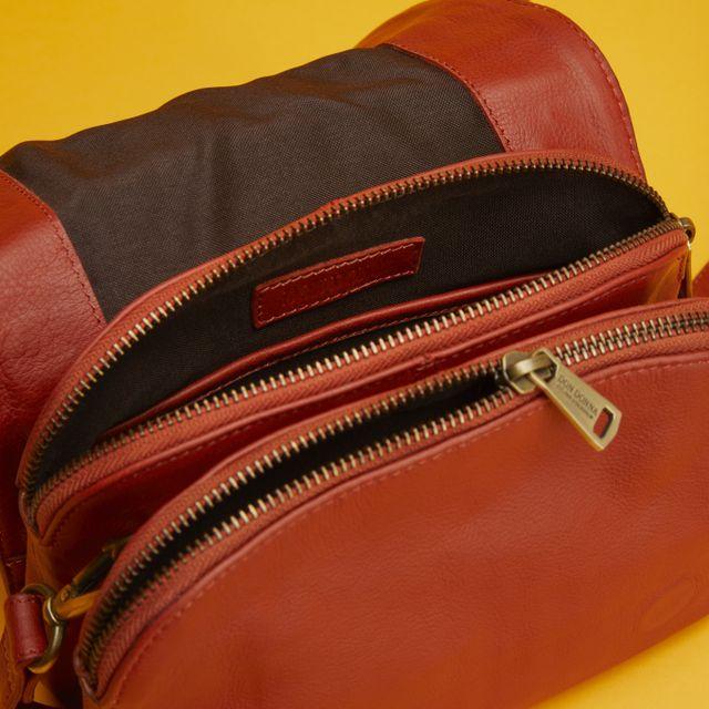Rizzo Brenda Crossbody handväska i skinn