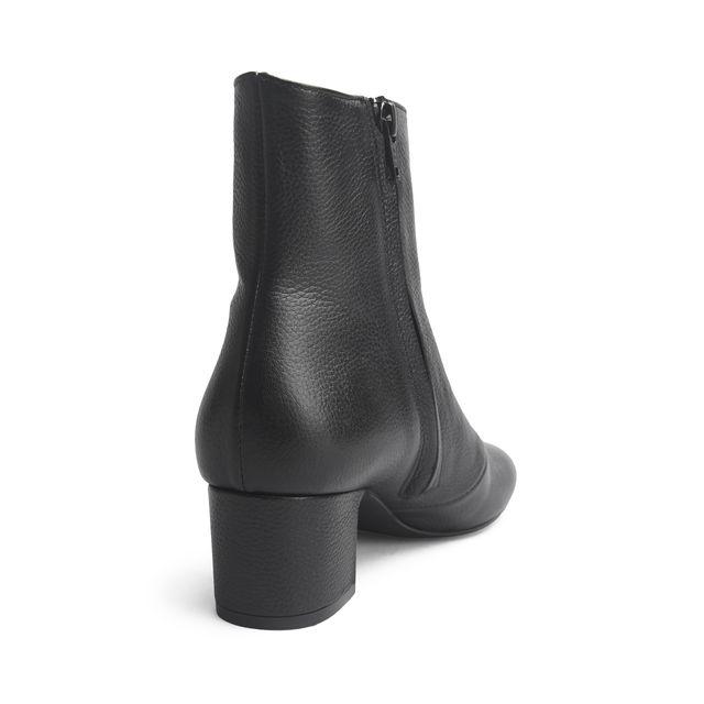 Rizzo Claudine boots i skinn