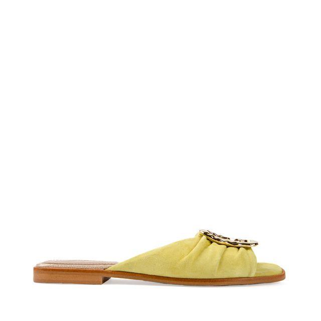 Flattered Misha sandal i mocka
