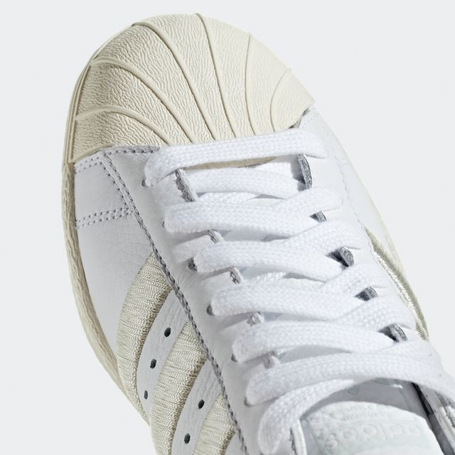 Adidas Superstar 80's sneakers i skinn, dam