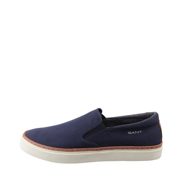 Gant Bari slip on-sneakers i textil