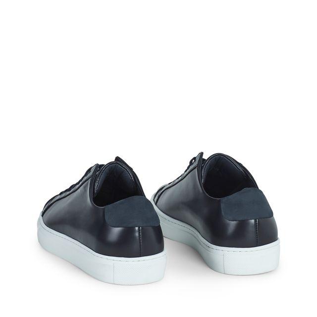 Filippa K Morgan Low Mix sneakers i skinn