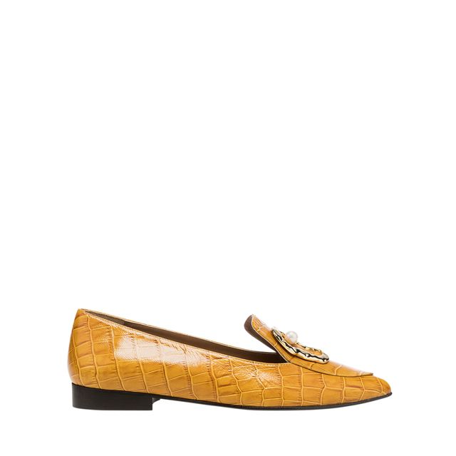 Flattered Alexa loafers i skinn